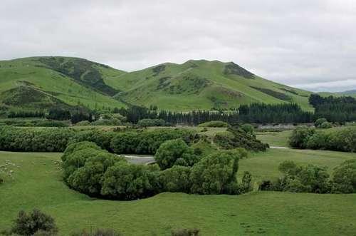 Canterbury Plains - New Zealand