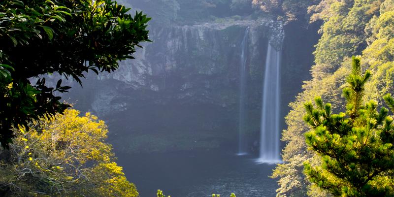 Cheonjiyeon Falls - Jeju Island