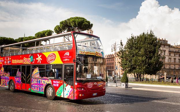 Hop on Hop off tour - Rome