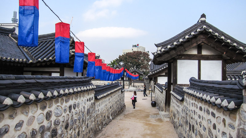 Namsangol Hanok Village - Seoul