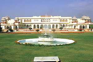 TAJ RAMBAGH PALACE, JAIPUR - ROYAL RETREAT