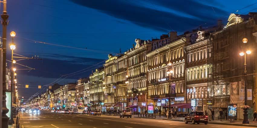 Nevsky Prospect - St. Petersburg