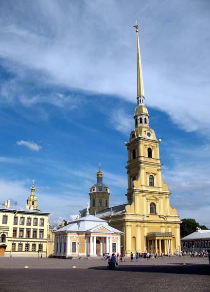 Peter and Paul Fortress - Saint Petersburg