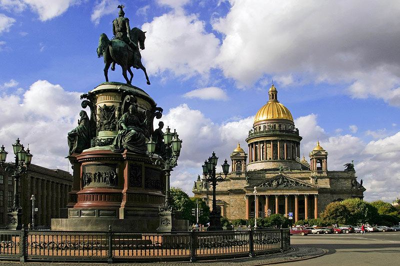 St. Isaac Cathedral - St. Petersburg
