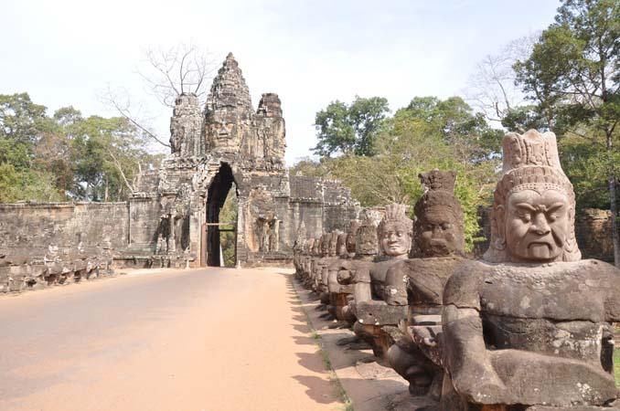 Angkor Thom South Gate - Siem Reap