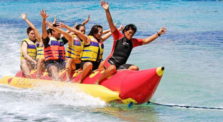 Banana Boat Ride - Bali