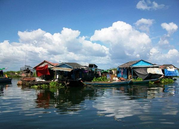 Chong Khneas Floating Village - Siem Reap