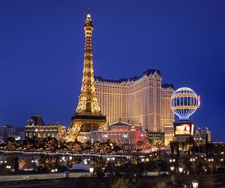 Eiffel tower Paris hotel - Las Vegas