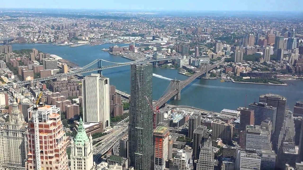 Freedom tower observation deck - New York