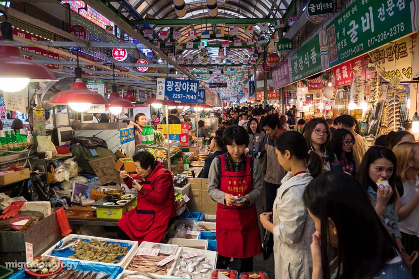 Gwangjang Night Market Tour - Seoul