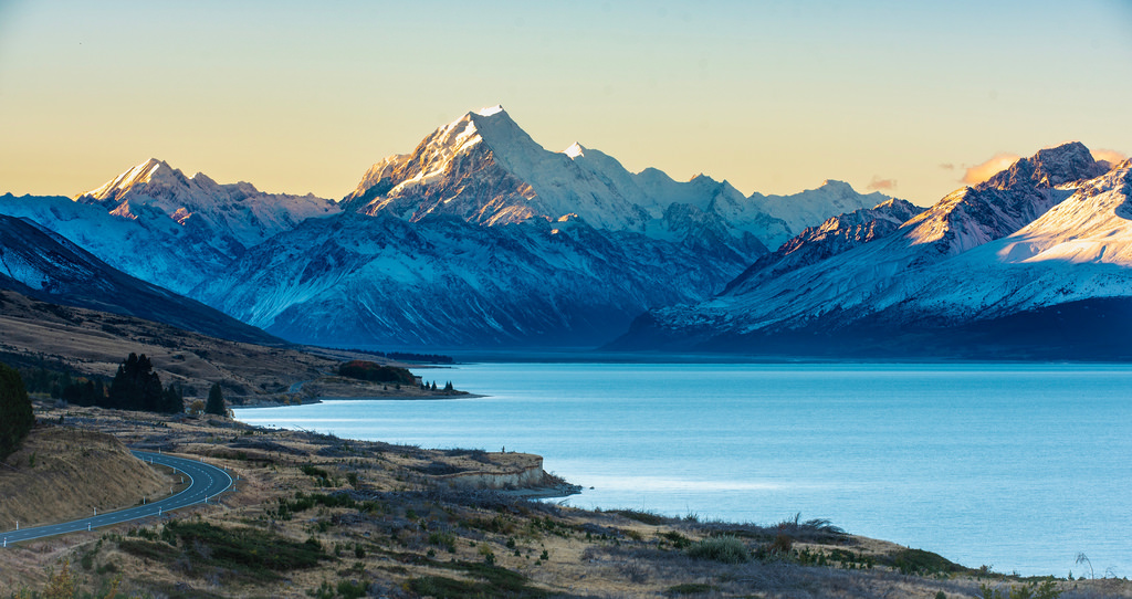 Mt. Cook and Lake Pukaki - New Zealand