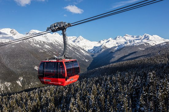 Peak 2 peak Gondola Ride - Whistler