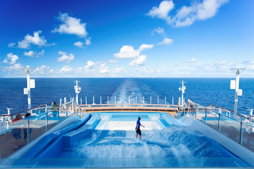 Royal Caribbean - Activity -Flowrider