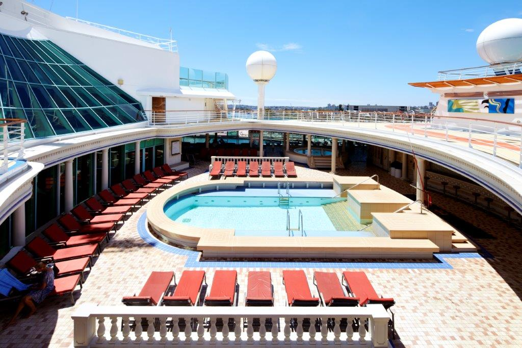 Royal Caribbean Swimming Pool