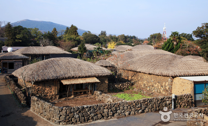 Seongeup folk village - Jeju Island