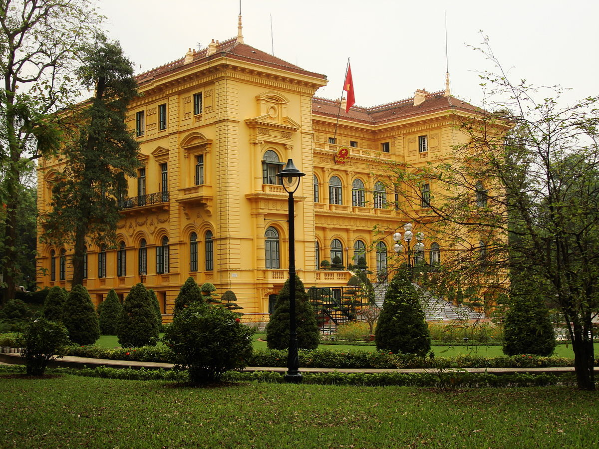 The Presidential Palace - Hanoi