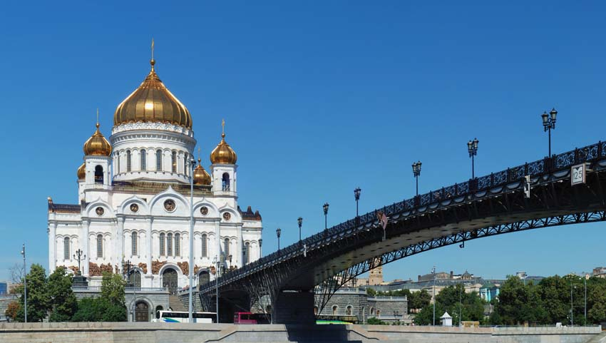 Christ the Savior Cathedral - Moscow
