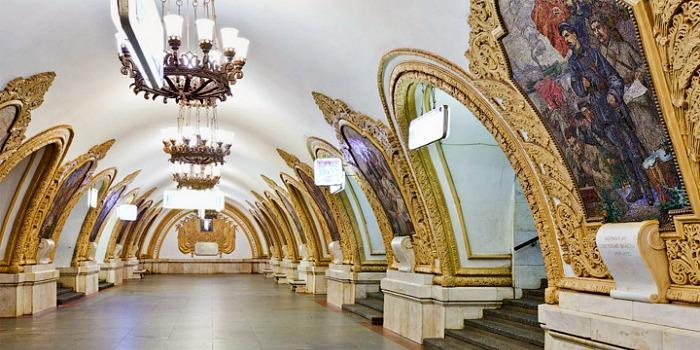 Metro tour - Moscow