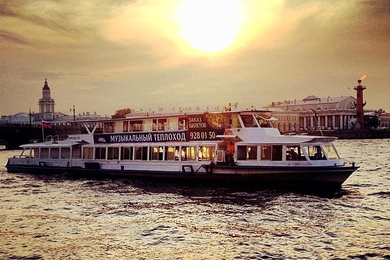 Neva River Cruise - St. Petersburg
