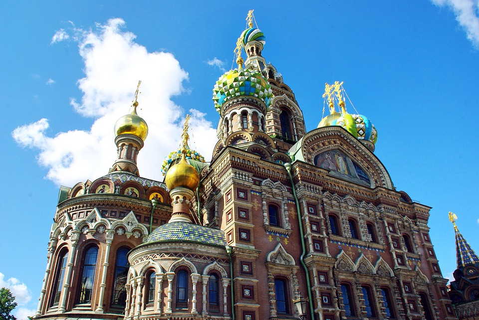 Church of the Savior on Blood - St-Petersburg