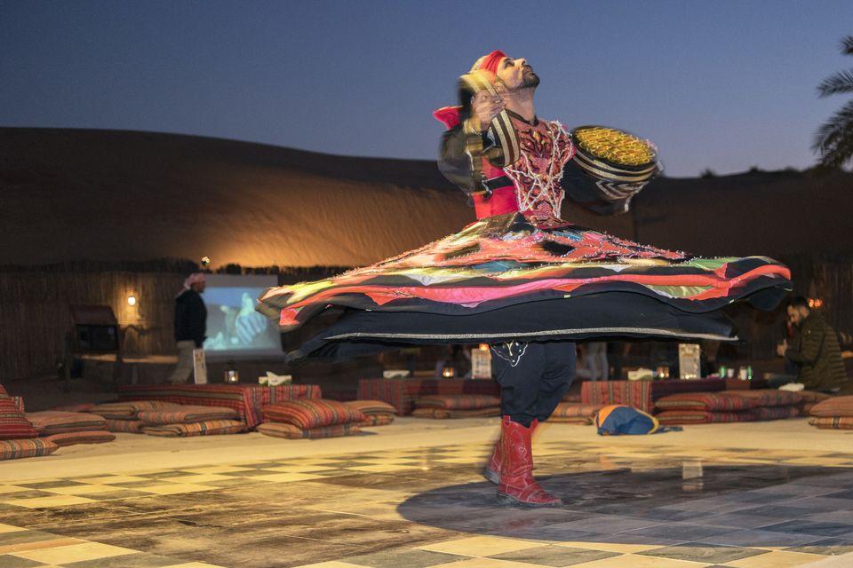 Tanura Dance At The Evening Camp